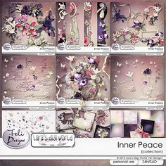 INNER PEACE COLLECTION WITH FWP   by Feli Designs and Lara's Digi World  Check out the stores for this huge collection. 55% off. Individual purchases is 30% off  Pickleberrypop  https://www.pickleberrypop.com/shop/manufacturers.php?manufacturerid=137  Studio  https://www.digitalscrapbookingstudio.com/store/index.php?main_page=index=13_376=da979026b515cfb6db2ba51937768df8  Digidesignresort  http://www.digidesignresort.com/shop/feli-designs-m-137?zenid=1856c032594d98601e776dbc44f8f6c1