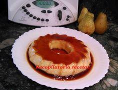 Recopilatorio de recetas thermomix: Flan de pera en thermomix