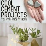 22 Seriously Cool DIY Cement Projects