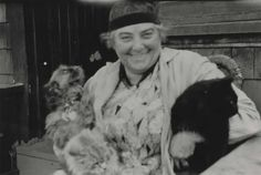 Emily Carr of Victoria, BC, noted artist and dog lover. Champion of First Nation. Emily Carr of Vi Women In History, Art History, Victoria City, Victoria British, Emily Carr Paintings, Griffon Dog, National Gallery, Group Of Seven, Brussels Griffon