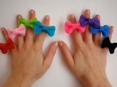 Mini Bow Ring // Felt Adjustable Cute Bow Ring // Original Design // Ready to ship Felt Crafts, Fabric Crafts, Diy Crafts, My Beautiful Friend, Red Felt, Handmade Jewelry, Handmade Gifts, Cute Bows, Mini Bow