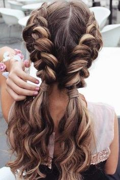 best summer hairstyles, ideas & looks for girls and women check more at . - Best Summer Hairstyles, Ideas & Looks for Girls and Women Easy Summer Hairstyles, Cool Braid Hairstyles, Pretty Hairstyles, Hairstyle Ideas, Perfect Hairstyle, Hairstyle Pictures, Hairstyle Braid, Sweet Hairstyles, Dance Hairstyles