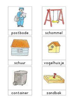Woordkaarten Bas 'De tuin' 2 Speech Language Therapy, Speech And Language, Speech Therapy, Learn Dutch, Dutch Language, Diy For Kids, Paper Dolls, Preschool, Teaching