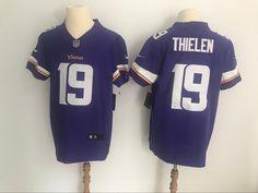 Minnesota  Vikings Adam  Thielen  19 Purple Vapor Untouchable Player Elite  Jersey Super Bowl cf968b003