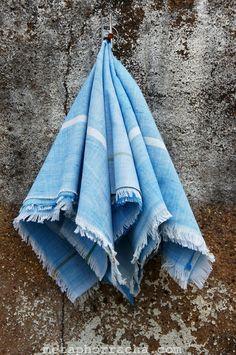 #homespun and #handwoven #khadi #handkerchief .