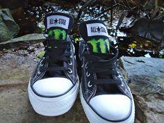 Converse Shoes Monster Energy Logo