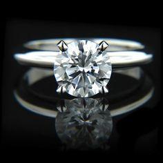 Tiffany - Solitaire Engagement Ring | MiaDonna.com