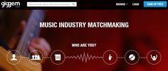 Giggem ayuda a reunir a músicos, bandas, discográficas, compositiores y managers