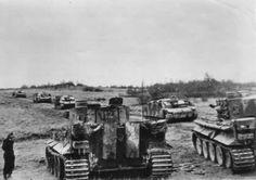 Eastern front 1943 Tiger and assault guns of the Kampfgruppe Sander