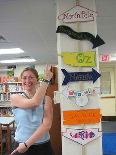 Ideias e dicas de decoração para a biblioteca escolar e infantil   Bibliotecários Sem Fronteiras