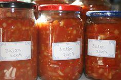 Zucchini Salsa, Canned