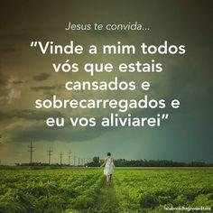 REDE MISSIONÁRIA: CONVITE DE JESUS: VINDE A MIM