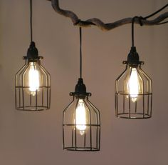 Tesla I Industrial Cage Pendant Lamp with Plug-in Cord industrial-pendant-lighting