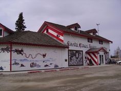 North Pole, Alaska - Santa Claus House Santa Claus House, Santa Clause, Fort Wainwright, Moving To Alaska, Army Day, Military Careers, North Pole, Where The Heart Is, Capital City