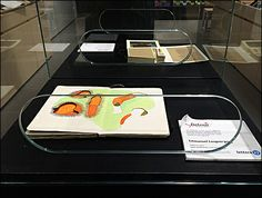 Most retail Museum Cases display items, while keeping the public out. For Moleskine® touchy-feely is a selling benefit. So Museum… Moleskine, Exhibit, Close Up, Retail, Museum, Cases, Color, Black, Colour