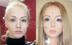 Valerie Lukyanova, la verdadera cara de la chica Barbie