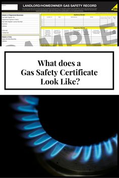 What does a Gas Safety Certificate Look Like