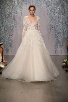 Bridal Week Fashion Fall 2016 - Fall 2016 Designer Wedding Dresses - Monique Lhuillier