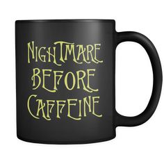 Can you believe this Nightmare Before ...?!?! Don't look! Okay look: http://mortalthreads.com/products/nightmare-before-caffeine-mug