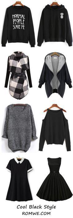 Cool Black Style - romwe.com