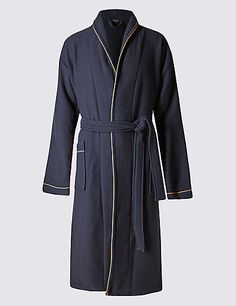 Luxury Cotton Waffle Spa Gown | M&S