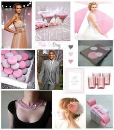 pink and blue wedding theme | from myweddingplace.blogspot.com : chantek tak?