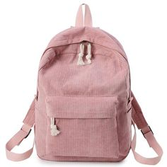 eab2e742ebc2 Fashion Backpack Corduroy Woman Backpack School Schoolbag Mochila Female  Simple Backpack For Teen Girl Children Mini Bag