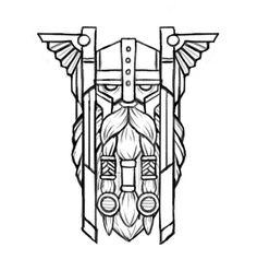 Scandinavia Club by Dock 57 Tatoo Art, Tattoo Drawings, Body Art Tattoos, Sleeve Tattoos, Norse Tattoo, Celtic Tattoos, Viking Tattoos, Tattoo Symbols, Viking Drawings