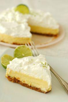 Key lime pie per il 1il 100% Gluten Free Friday - Glu-Fri ricette senza glutine - recetas sin gluten