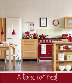 Home Shabby Home - Retro Red