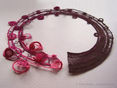 Designer handmade Idrija lace products by Tina Koder