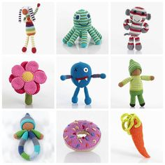Stock up on Pebble's best selling rattles @abckids.expo Booth #1535! -#abckids15 #pebblechild #crochet #fairtrade #handmade #machinewashable