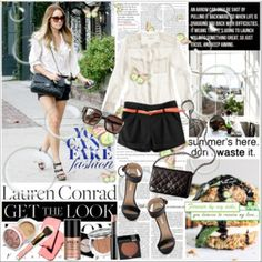 Get the Look:: Lauren Conrad in Sassy Summer Shorts