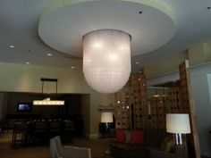 Sugar Land Marriott Town Square. DL-04 Acrylic and Steel. Project Designer: Flick-Mars