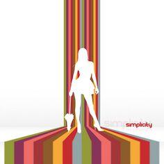 70's design inspiration - Google Search Modern Design, Web Design, Striped Walls, Photoshop Tutorial, Rainbow Colors, Wall Stripes, Design Inspiration, Retro, 1970s