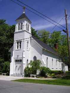 St. Michael Catholic Church, Kelleys Island, Ohio where many of my ancestors were married, baptized, made First Communion and had their funerals