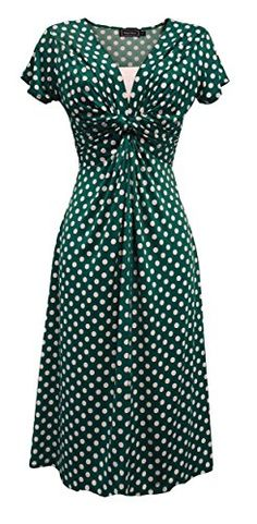 New Ladies Retro WW2 Land girl 1940s Wartime Teal Polka D... https://www.amazon.co.uk/dp/B0722P3BH1/ref=cm_sw_r_pi_dp_x_ki3qzbVWT3DW0