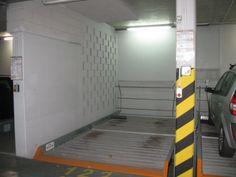 Garaż - miejsce na platformie parkingowej
