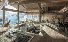 Chalet Mont Blanc, Megève, France.  7 bedrooms http://www.firefly-collection.com/properties/show/336/chalet-mont-blanc/luxury-ski-chalet/megeve/france