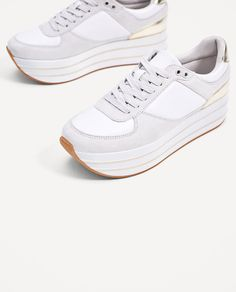 PLATFORM SNEAKERS-SHOES-WOMAN-COLLECTION AW/17   ZARA United States