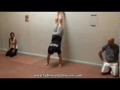 No BS Strength Secrets - Handstand Walk for Shoulder and Core Strength