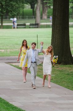 An Intimate DC War Memorial Wedding- Axel and Robyn
