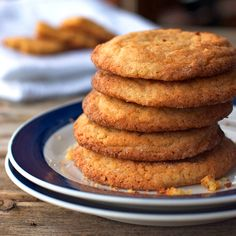 These simple brown sugar cookies are crunchy on the outside and chewy on the inside. A favorite recipe from a family friend who is a caterer!