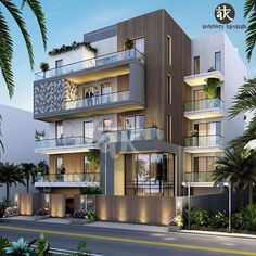 Architect Design House, Modern Residential Architecture, Architecture Building Design, Architecture Interiors, 3 Storey House Design, Bungalow House Design, House Front Design, Modern Bungalow, Modern Exterior House Designs