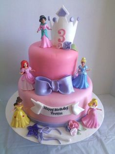 I know a lot of little princesses who would love this cake! Maybe some grownup princesses too. :)
