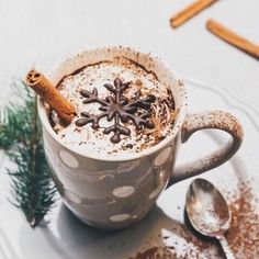Yummy Christmas Hot Chocolate