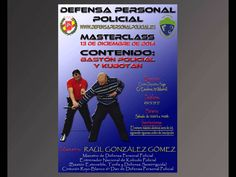 Tercera MasterClass de Defensa Personal Policial (Promoción)