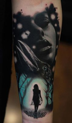 The Dark Girl Tattoo