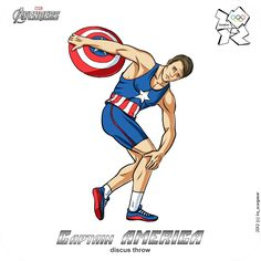 FAN-MADE: THE AVENGERS Assemble For The London 2012 Summer Olympics!