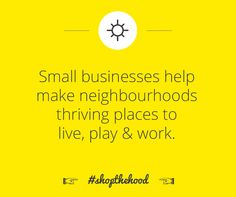 On Nov 29th, let's celebrate the invaluable contribution of our local businesses. #shopthehood